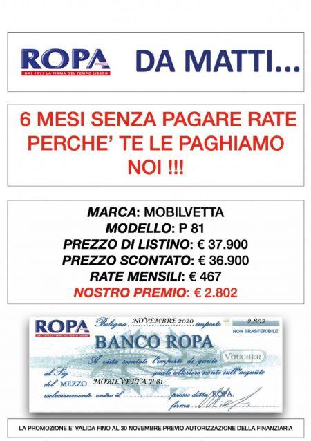 MOBILVETTA P81 - OFFERTA!